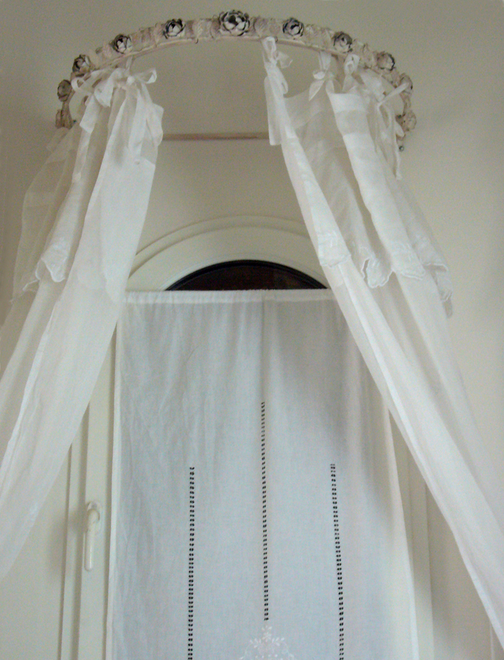 rideaux inspiration shabby. Black Bedroom Furniture Sets. Home Design Ideas