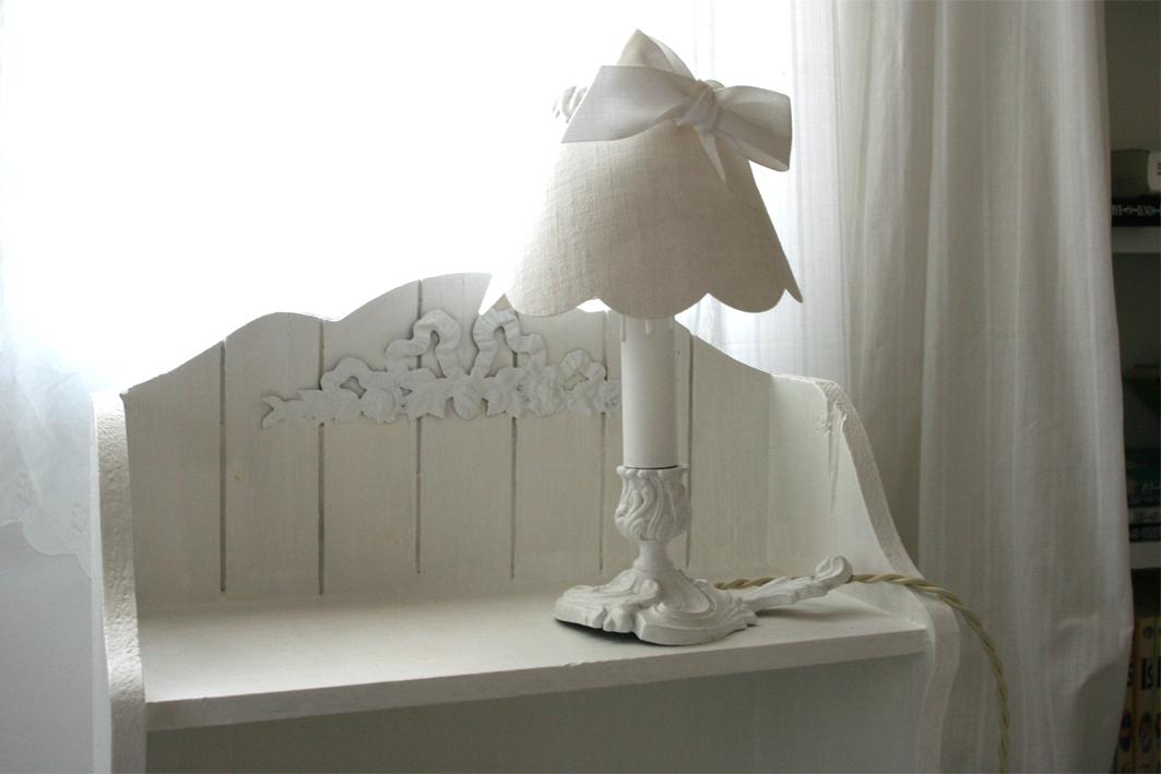 lampe shabby inspiration shabby. Black Bedroom Furniture Sets. Home Design Ideas
