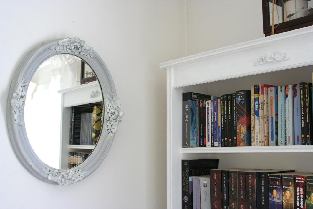 miroir ancien inspiration shabby. Black Bedroom Furniture Sets. Home Design Ideas