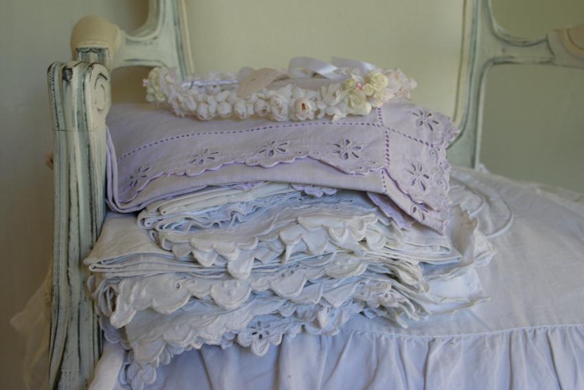 D coration cosy inspiration shabby - Linge blanc devenu rose ...